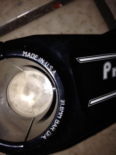 2015 Profile 31.8 Helm 60MM Stem