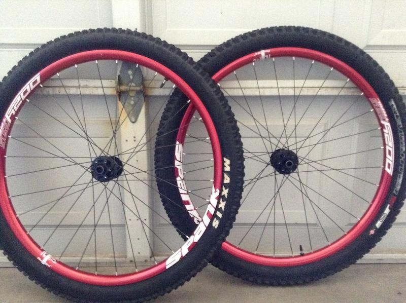 Xd Rims For Sale >> 2015 Spank Oozy 295/DT Swiss 350 650b wheelset For Sale