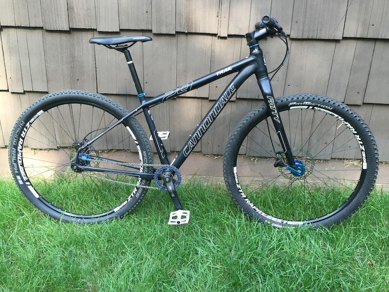 4bacf906677 2015 Cannondale Trail SL 29 Single Speed Mountain Bike For Sale