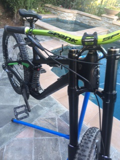 2016 Brand new kona operator frame with dialed components