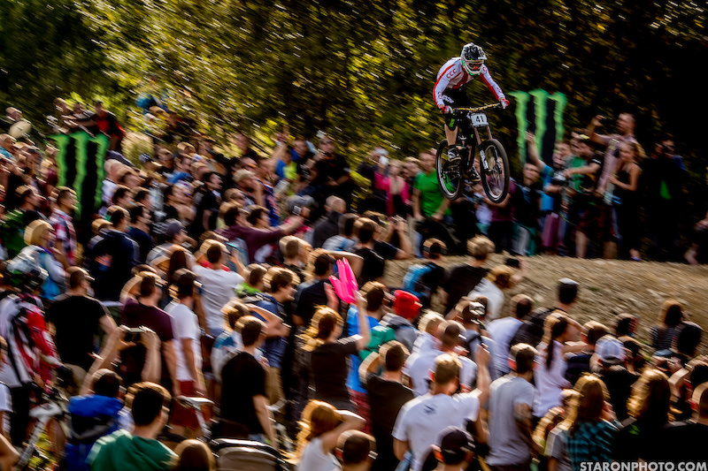 Photo shoot by Piotr Staro during Diverse downhill contest Wis a 2015