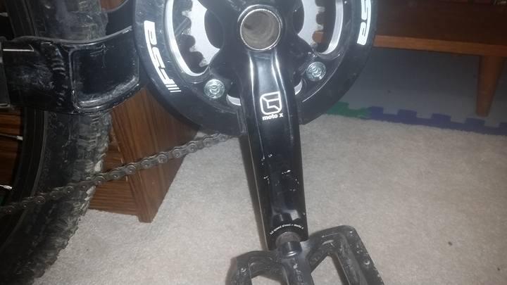 2009 Kona minxy DH bike
