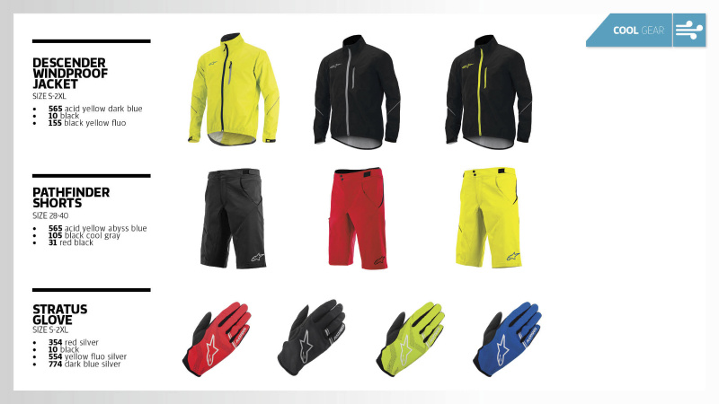 ALPINESTARS LAUNCHES 2015 FALL CYCLING COLLECTION