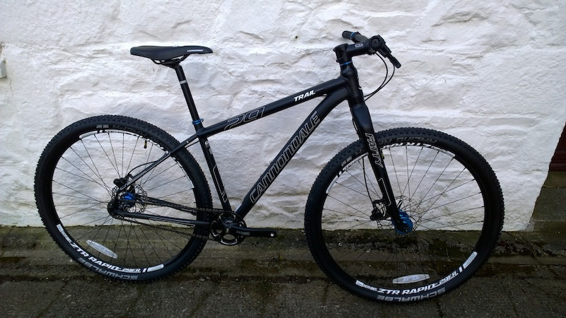 47955b7bef2 2015 Cannondale Trail SL 29 SS For Sale