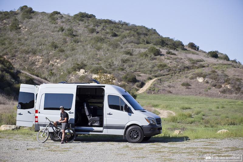 Brian Lopes' Custom Sprinter Van - Pinkbike