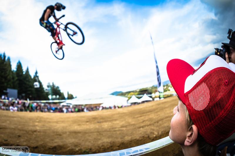 Emmerson Wilken riding Banshee