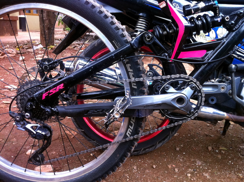 1 x 9 setup Progear Narrow Chainring