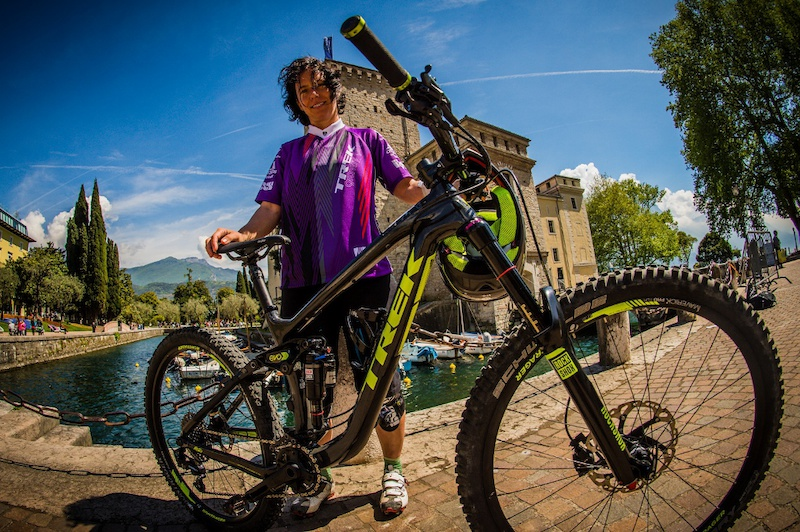 pic by Nathan Hughes / adidas eyewear / Trek Bicycle