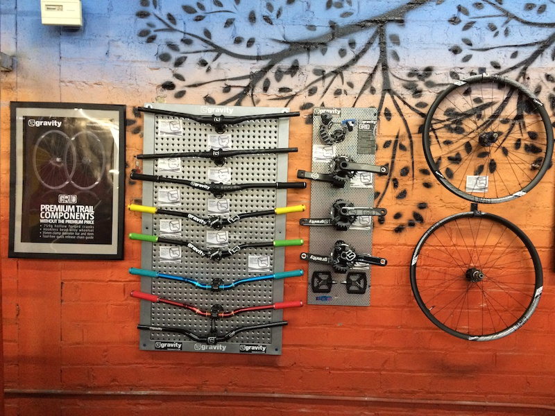 Gravity is a Rays Bike Park Sponsor in 2015