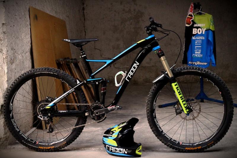 2015 Radon Factory Racing Team bike and kit
