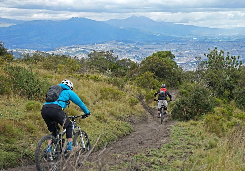 Ecuador Mountain Biking Avenue of the Volcanos Part Two - Chimborazo and Bigger Volcanos