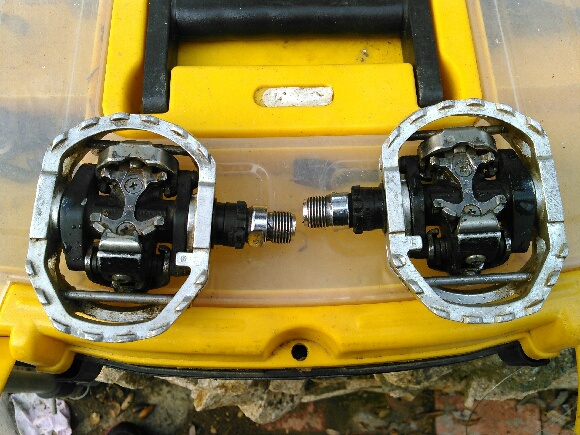 0 shimano 545 clipless pedals