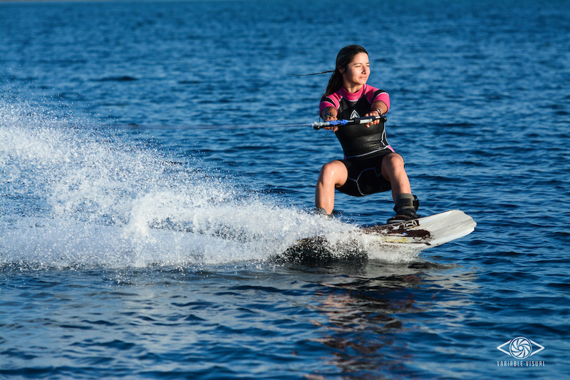 Wakeboard in the morning