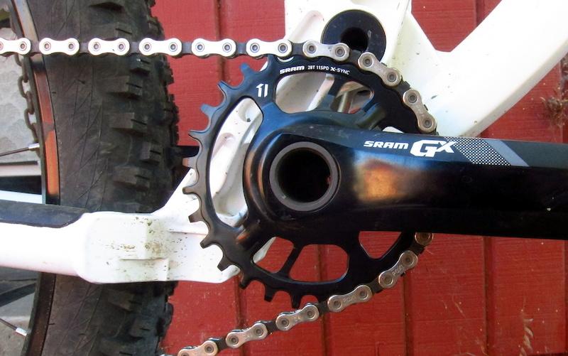 BLACKSPIRE 26t  x 76mm BCD NW Chain Ring 1 x 11 Speed Bike fit SRAM XX1