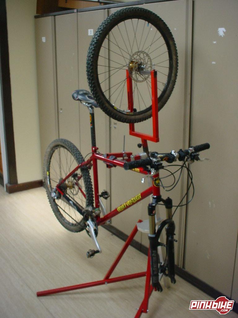 My Homemade Bike Stand At My Homemade Bike Stand In Peterborough