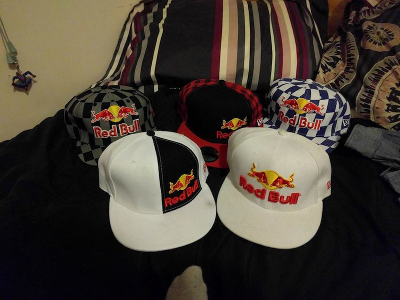 2013 7 3/8 Official Red Bull Hats