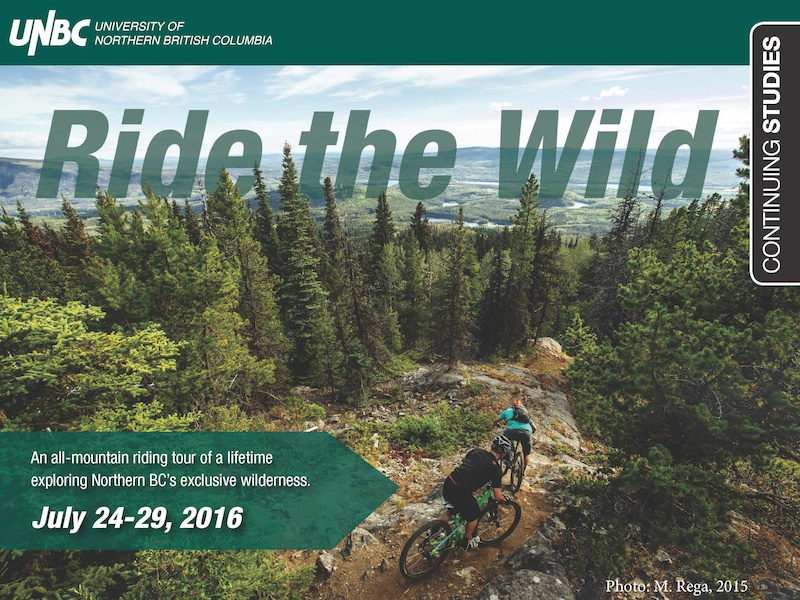 Ride the Wild Exclusive Northern BC MTB Tour