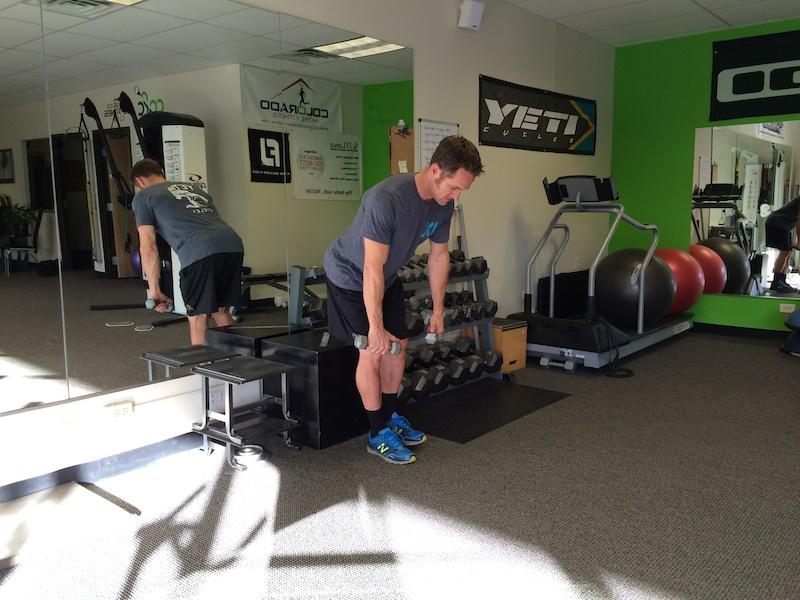 Single leg deadlift row squat to sit curl to press- 2