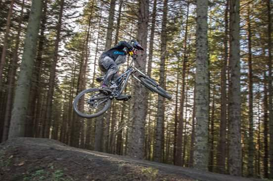 Styling it out at descend bike park hamsterley on sunday on my new myst x 2014 photo cred goes to Jim Wood and Dave McClurg
