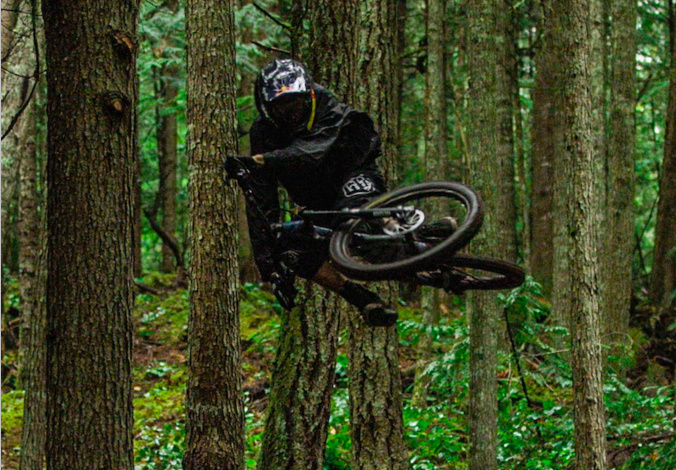 wallpaper downhill bike