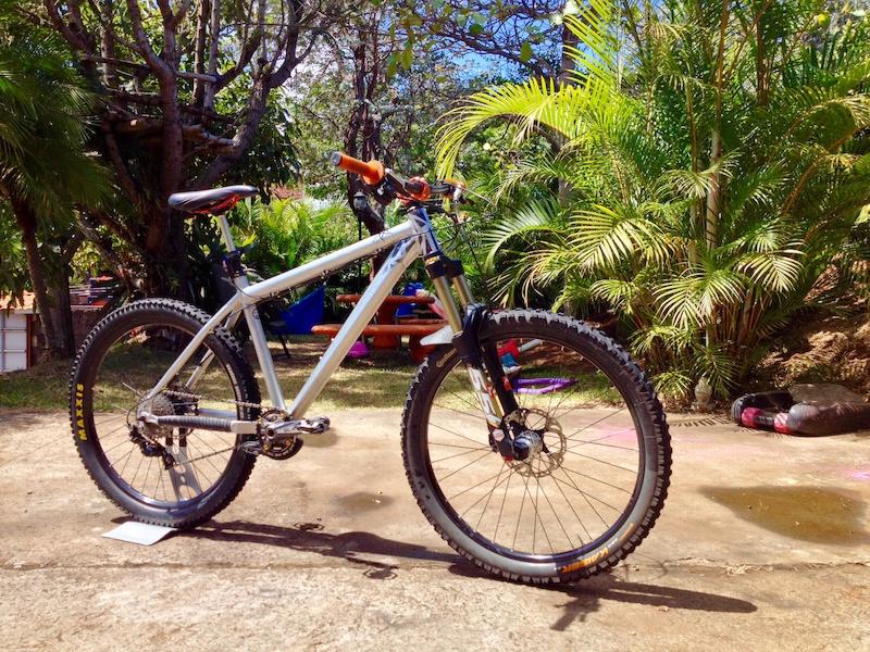 Clean bike and tubless setup