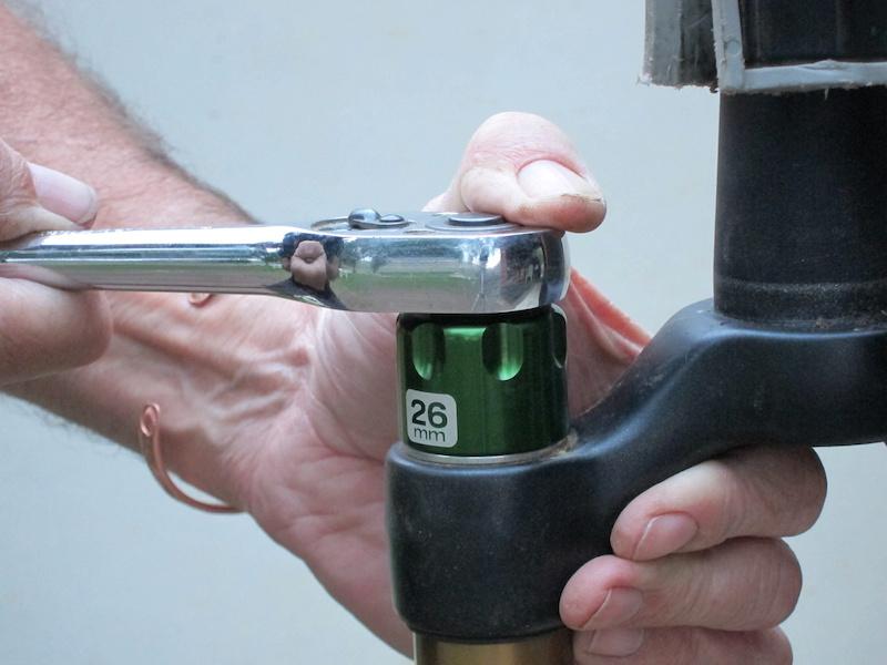 Rockshox Pike Fork tool for air//top cap 30mm//24mm Wrench:Socket Rock Shox USA!!