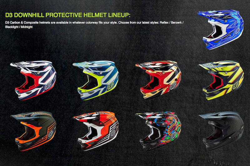 2016 Troy Lee Designs Helmet Collection Pinkbike