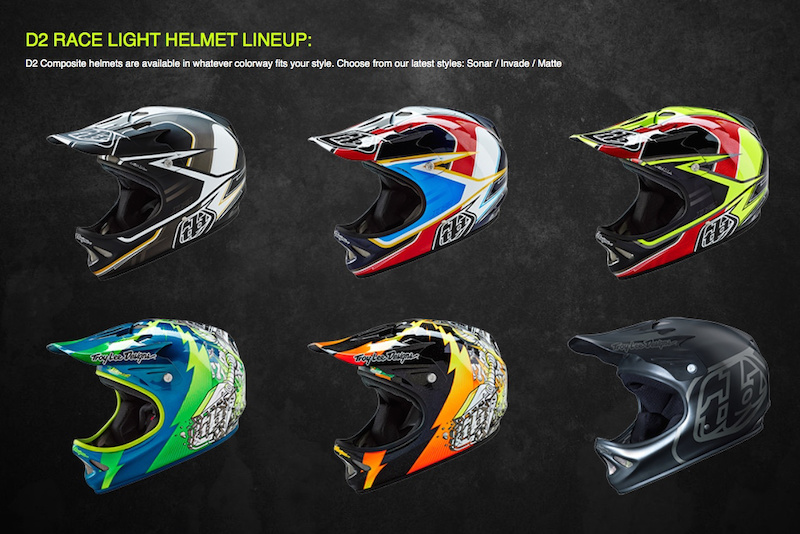 2016 Troy Lee Designs Helmets