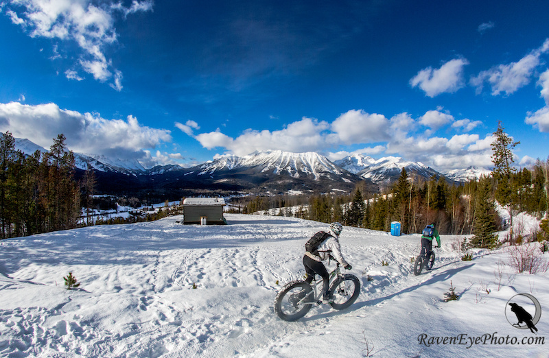 Images by Raven Eye for the article - Fat Biking in Revelstoke and Fernie B.C.
