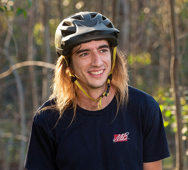 Pinkbike rider and photo model Andy Paul