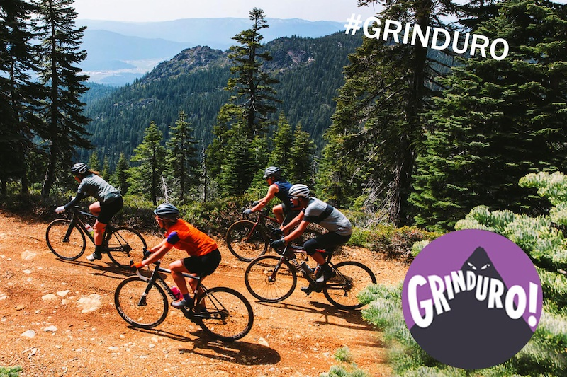 Ride at your own pace to the next Grinduro timed segment while marveling at the views.