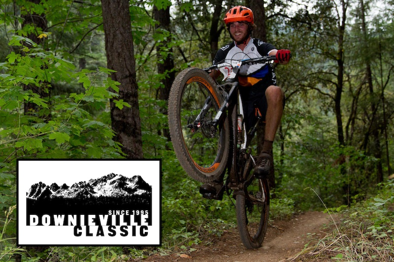 Smiles and wheelies are contagious at the Downieville Classic.