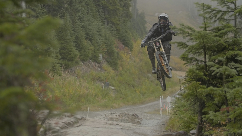 Elements of Fall in Whistler Bike Park