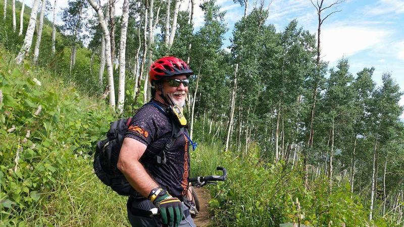 Wilderness mountain biking
