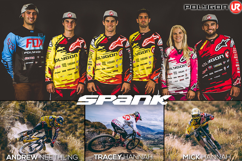 The United Ride team was instrumental in the development of SPANK s patented Vibrocore impulse and fatigue damping handlebar technology.