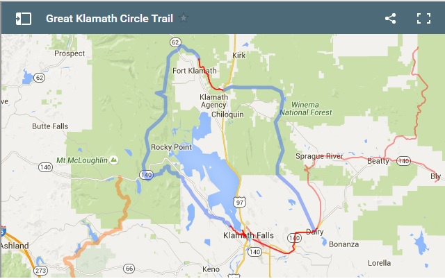 Great Klamath Circle Trail