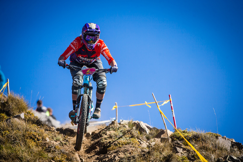 Rollercoaster of a weekend for Anita Gehrig who suffered a mechanical on the first day