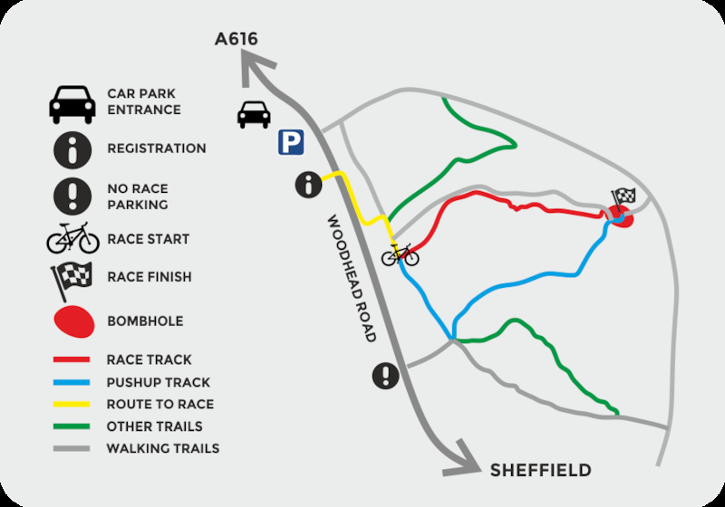 Directions for Peaty s Steel City DH