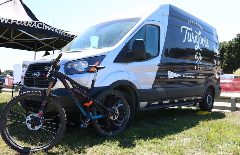 Lauren Gregg's Custom Ford Transit Van