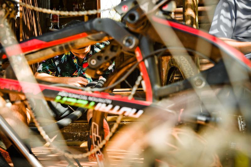 Good at riding terrible mechanic haha Eric Palmer 2016