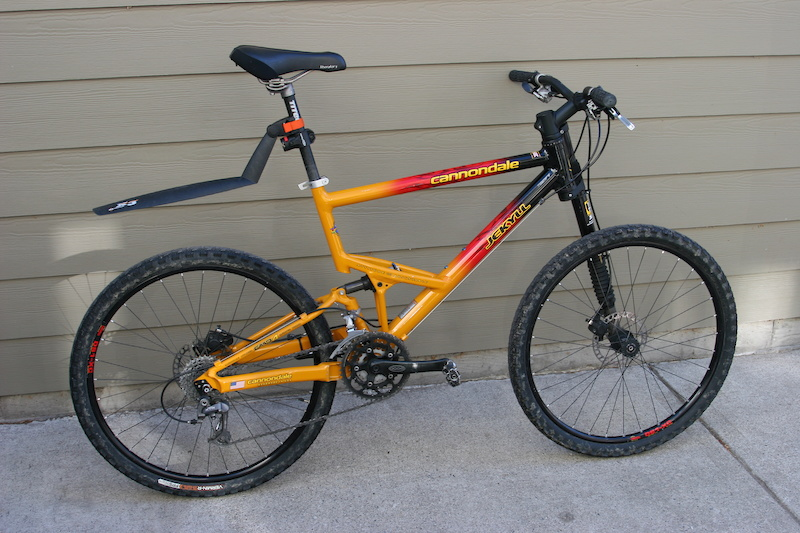 Cannondale Bikes For Sale >> 2001 Cannondale Jekyll 2000 Full Suspension Bike For Sale
