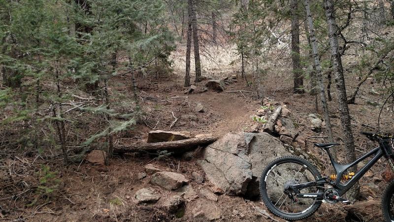 New spankbikes Spike vibrocore bars wheels and stem