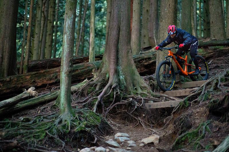 Maxxis Rekon and Ikon Rider Jesse Melamed Photo John Gibson