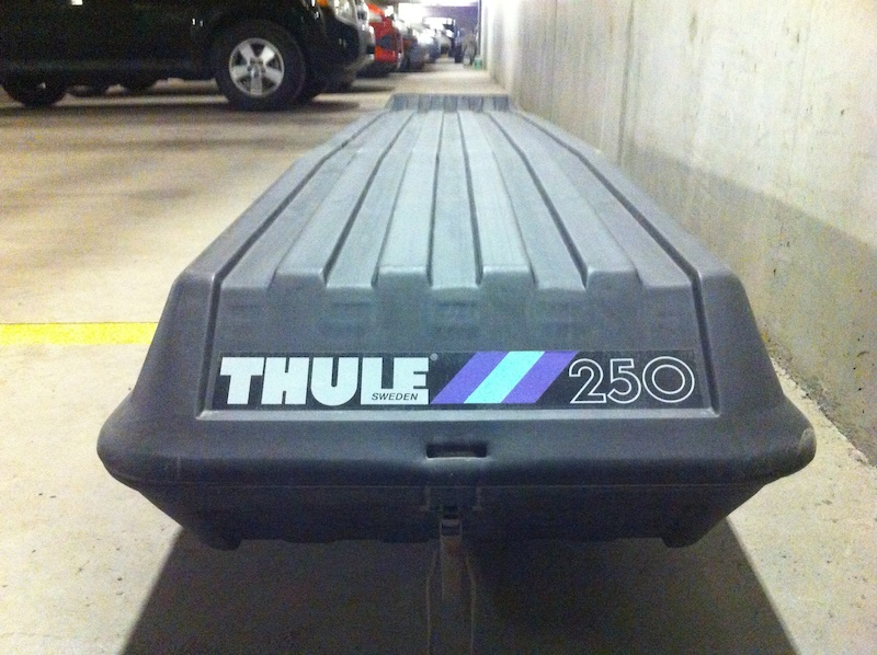 Thule 250 Combi Cargo Box For Sale
