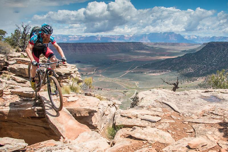 Utah Bike Tour Route