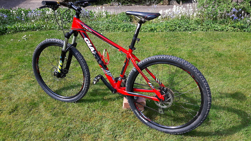 1a854d8aeee 2015 Medium, Giant Talon 27.5 4 with Fork upgrade For Sale
