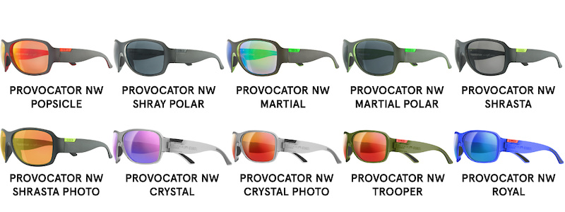 Provocator NoWeight Line Overview