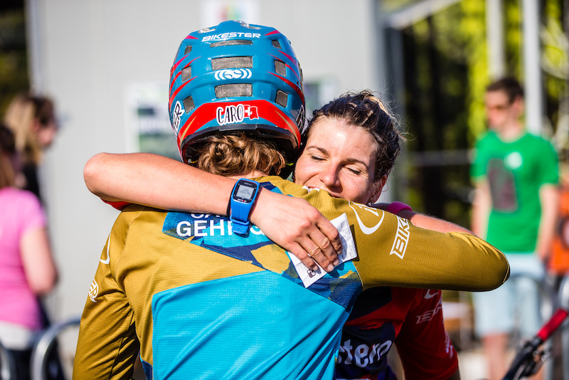The twins were over the moon after getting their best results at an EWS this weekend