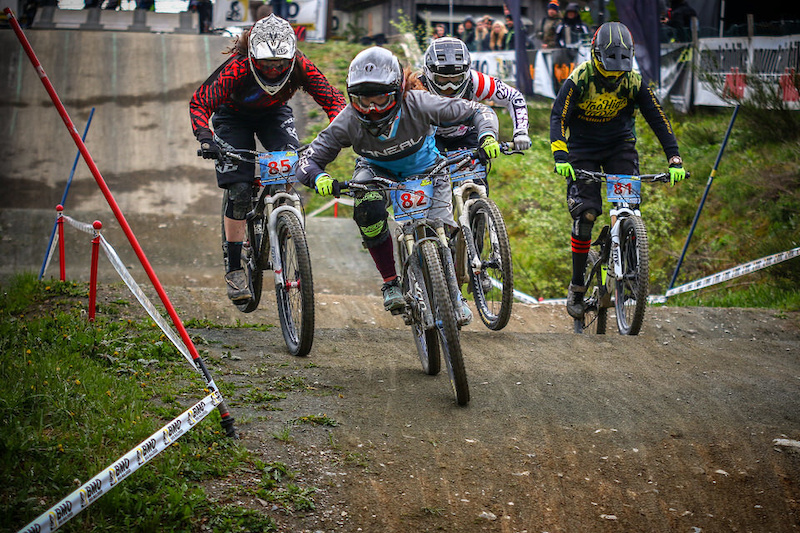 Racing from 4X Pro Tour in Germany Photos Credit Christian Donner