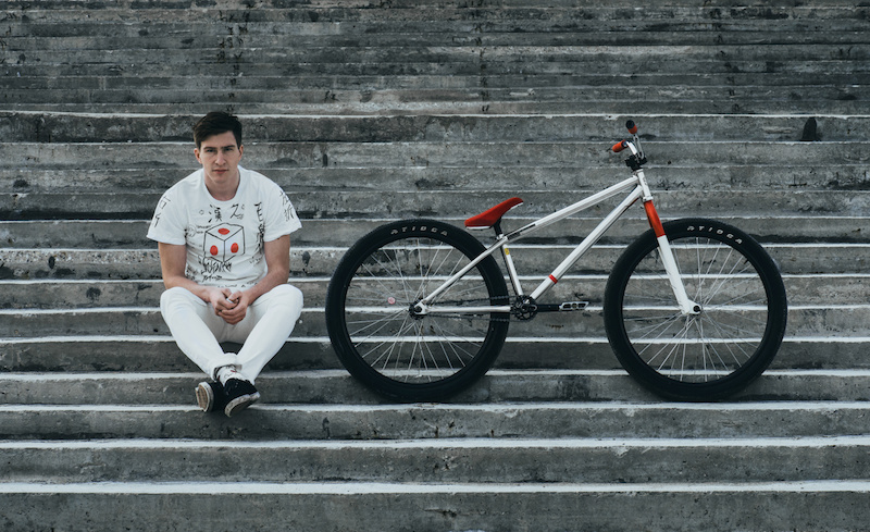 Pavel Vabishchevich s Japanese Bike